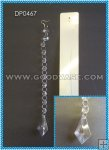 ACRYLIC BEAD CHAIN WITH DROP